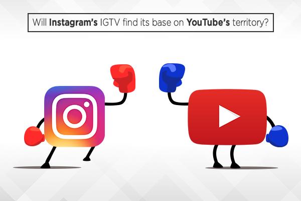 Instagram,IGTV,YouTube territory